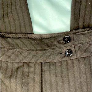 Worthington Black, pin-stripe trousers